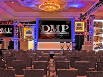 DMP Production Services - Truss Panel Staging Scenic