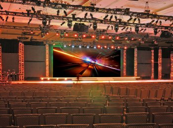 DMP Production Services - Jumbotron Screen Stage