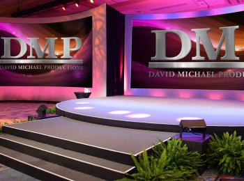DMP Production Services - 2 Screen Round Stage